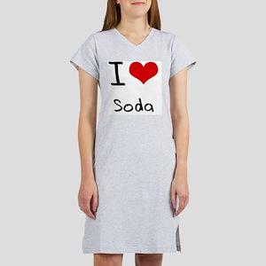 I love Soda Women's Nightshirt