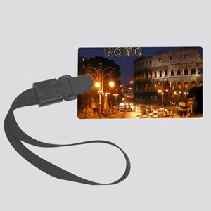 Rome_5x3rect_sticker_Colosseum Large Luggage Tag