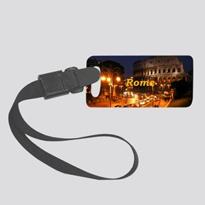 Rome_2x3_magnet_Colosseum Small Luggage Tag