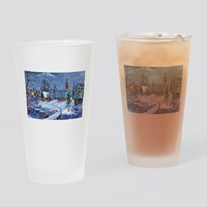 Winter Wonderland Drinking Glass