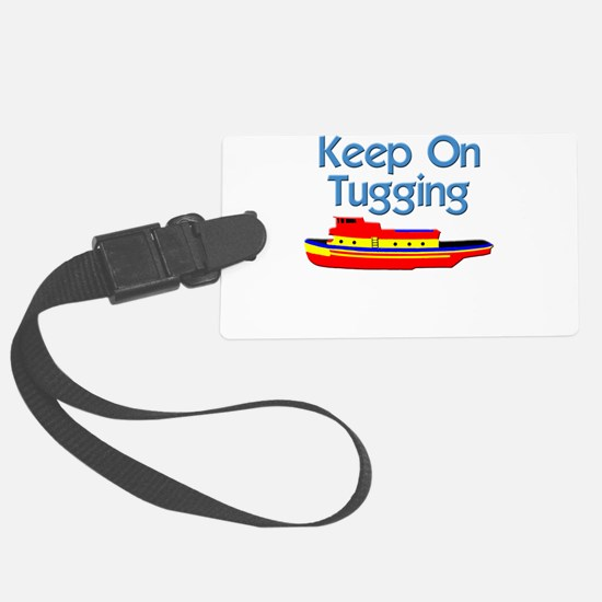tugboat tug boat tugs Luggage Tag