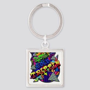 Stone Cold Trippin! Square Keychain