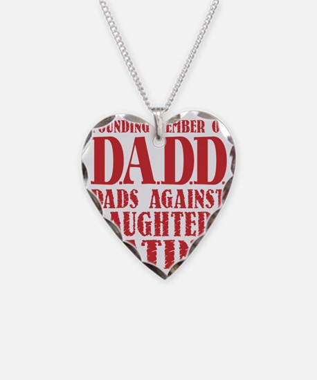 DADD Dads Against Daughters D Necklace