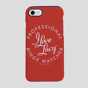 Professional I Love Lucy Binge iPhone 7 Tough Case