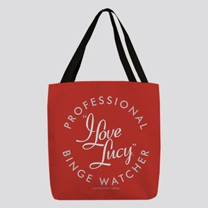 Professional I Love Lucy Binge Polyester Tote Bag