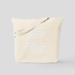 Geek Dads Rarely Shoot (Dk) Tote Bag