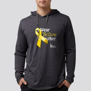 I Wear Yellow for my Brother t Long Sleeve T-Shirt