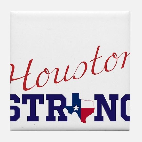 HOUSTON, TEXAS STRONG Tile Coaster