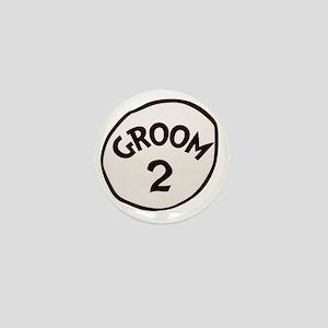 Groom 2 Mini Button