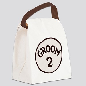 Groom 2 Canvas Lunch Bag