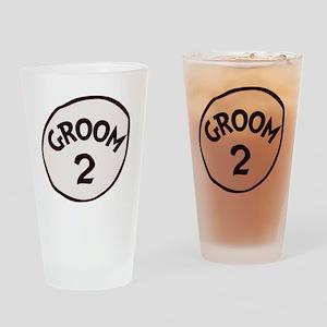Groom 2 Drinking Glass