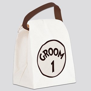 Groom 1 Canvas Lunch Bag