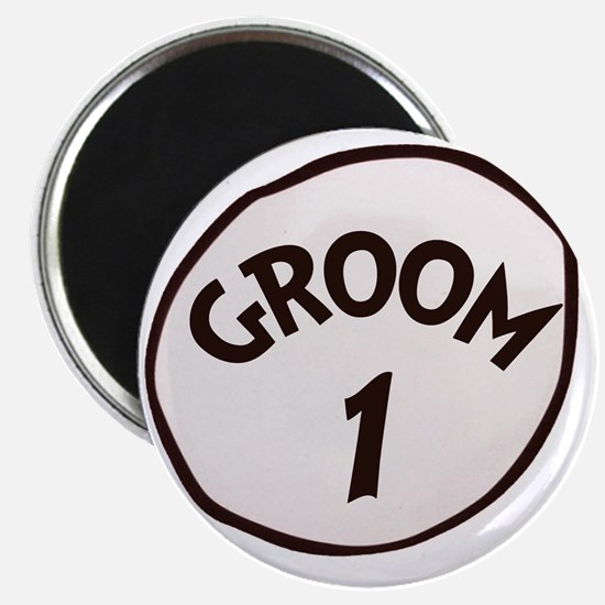 Groom 1 Magnet