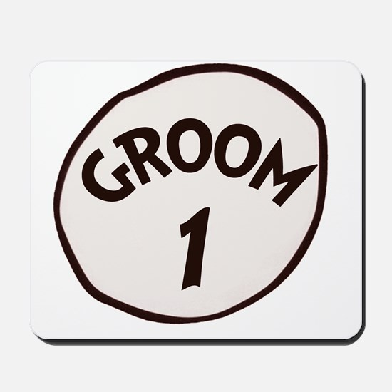 Groom 1 Mousepad