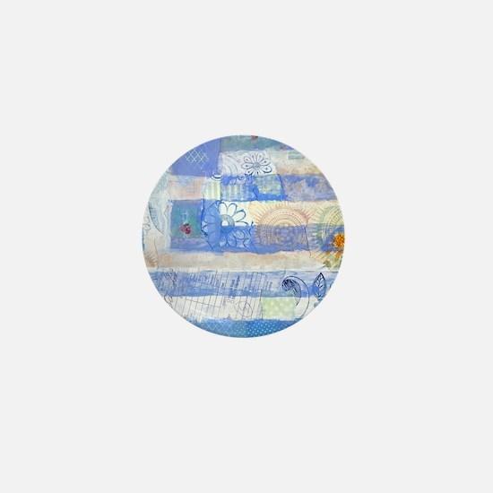 Greek Flag Mini Button