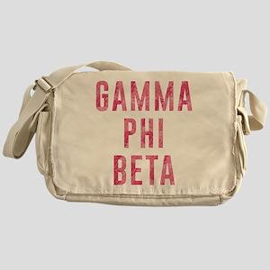 Gamma Phi Beta Carnation Messenger Bag