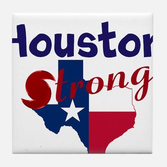 Houston Strong Hurrican Tile Coaster