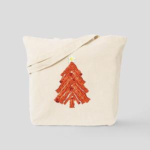 Bacon Christmas Tree Tote Bag
