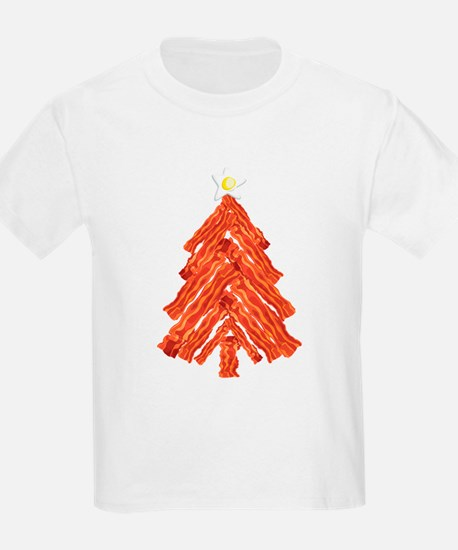 Bacon Christmas Tree T-Shirt