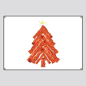 Bacon Christmas Tree Banner