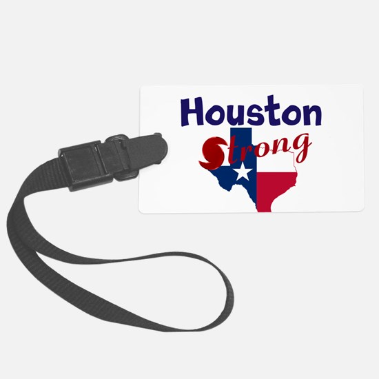 Houston Strong Hurrican Luggage Tag