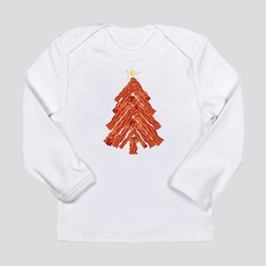 Bacon Christmas Tree Long Sleeve Infant T-Shirt