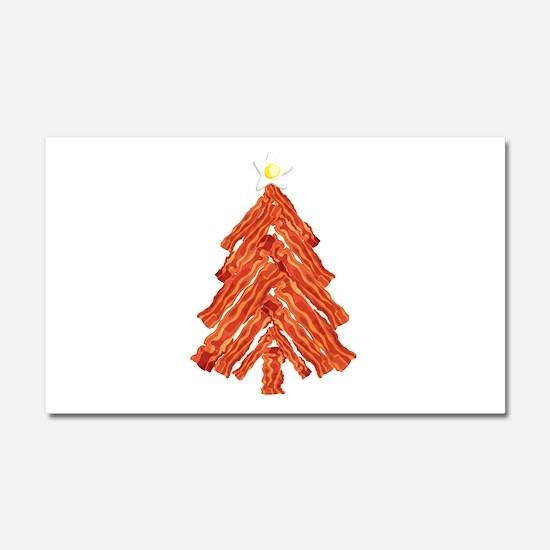 Bacon Christmas Tree Car Magnet 20 x 12