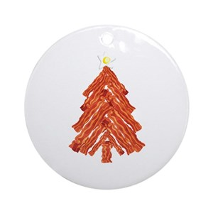 Bacon Ornaments - CafePress