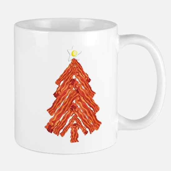 Bacon Christmas Tree Mug