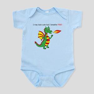 Fire breathing dragon Body Suit