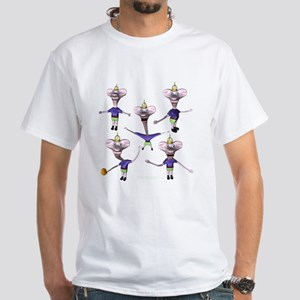 LKJ Montage White T-Shirt