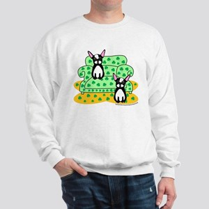 Irish Boston Terriers Sweatshirt