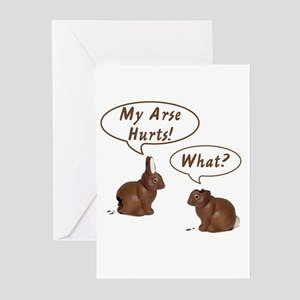 The Chocolate Bunny Greeting Cards (Pk of 10)