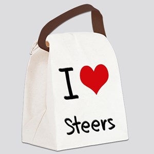 I love Steers Canvas Lunch Bag