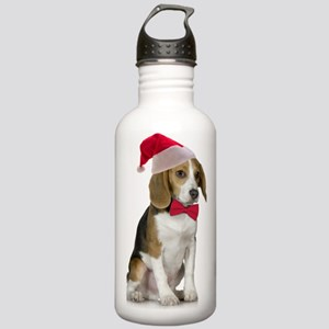 Santa Beagle Stainless Water Bottle 1.0L