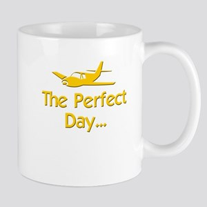 pilot airplane flying Mugs