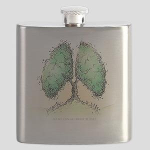 Living Breath  Flask