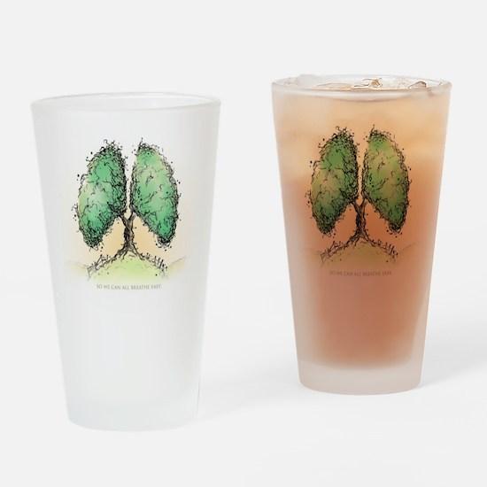 Living Breath  Drinking Glass