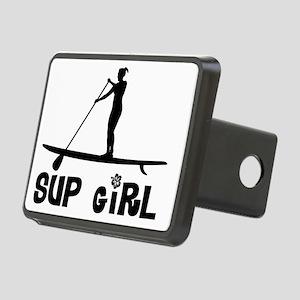 SUP_Girl-b Rectangular Hitch Cover