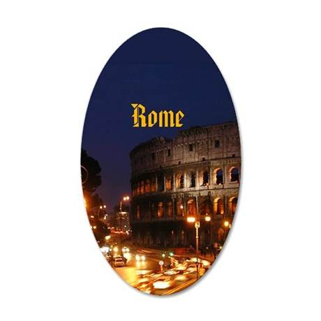 Rome_2.3665x4.598_iPhone4_4S 35x21 Oval Wall Decal