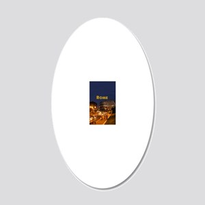 Rome_2.5x3.5_Ornament(Oval)_ 20x12 Oval Wall Decal
