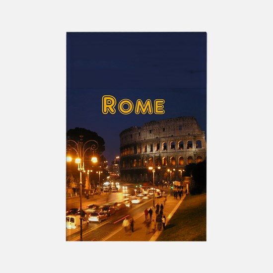 Rome_2.5x3.5_Ornament(Oval)_Colos Rectangle Magnet