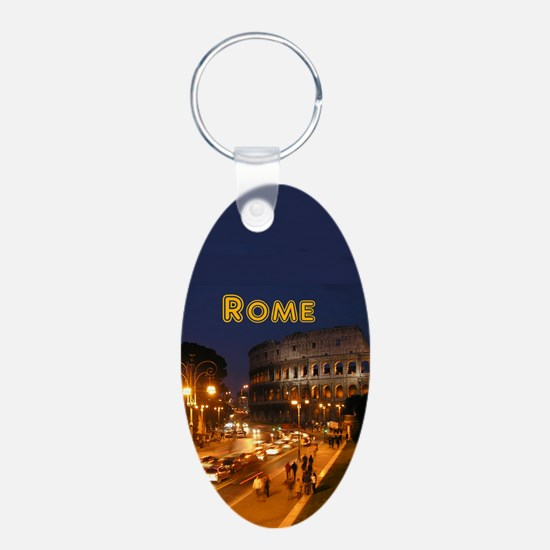 Rome_2.5x3.5_Ornament(Oval) Keychains