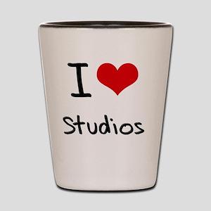 I love Studios Shot Glass
