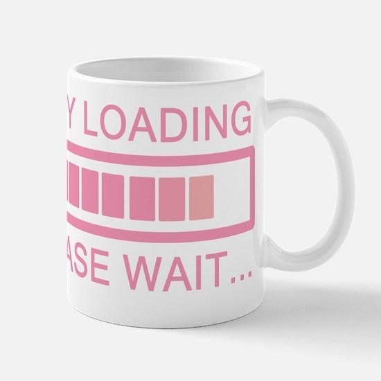 Baby Loading Please Wait Mug