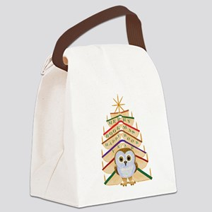 Merry Bookmas! Canvas Lunch Bag