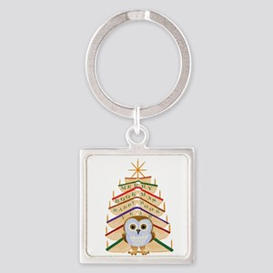 Merry Bookmas! Keychains