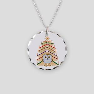 Merry Bookmas! Necklace