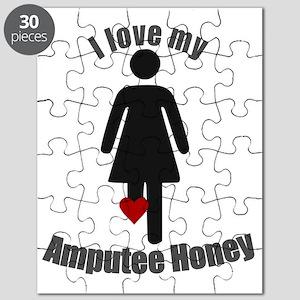 I Love my Honey Amputee Puzzle