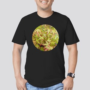 Japanese Maple with Re Men's Fitted T-Shirt (dark)